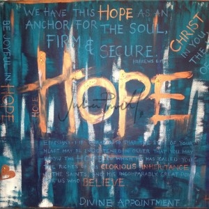 Just Believe Hope print