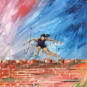 Just Believe- She Can Scale the Wall