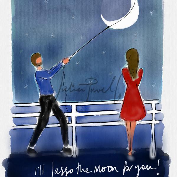 I'll Lasso the moon