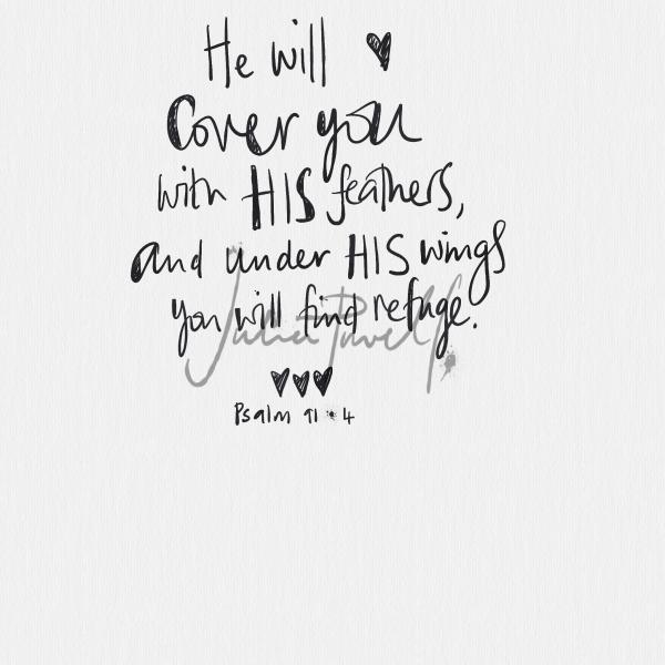 greeting card Psalm